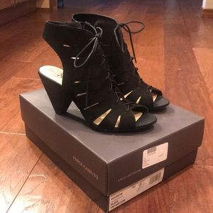 Vince Camuto lace up heel, size 7